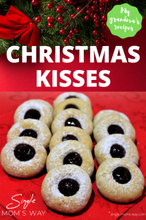 Christmas Kisses - Old Sweet Recipe