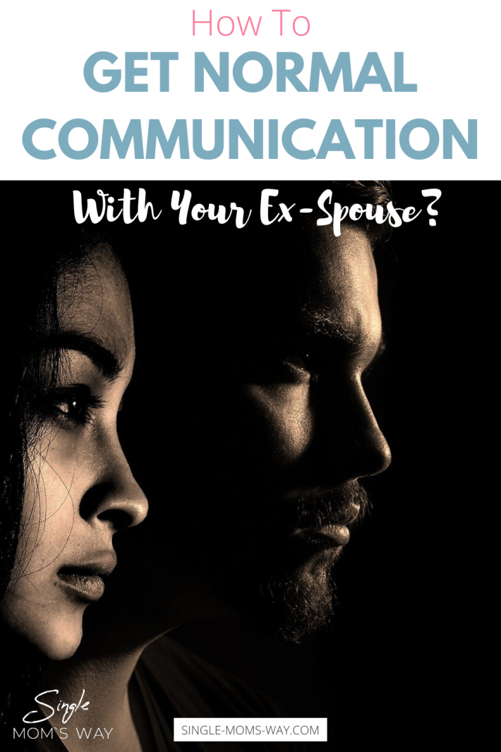 How To Get Normal Communication With Your Ex-Spouse?