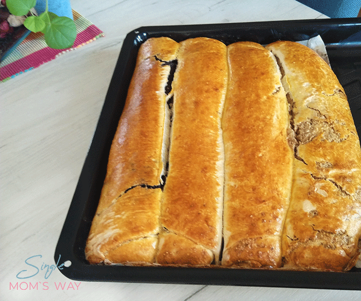 Little Strudel With Poppy And Walnuts
