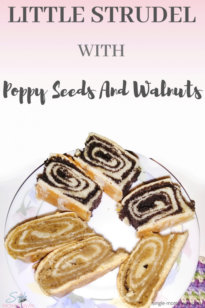 Little Strudel With Poppy Seeds And Walnuts