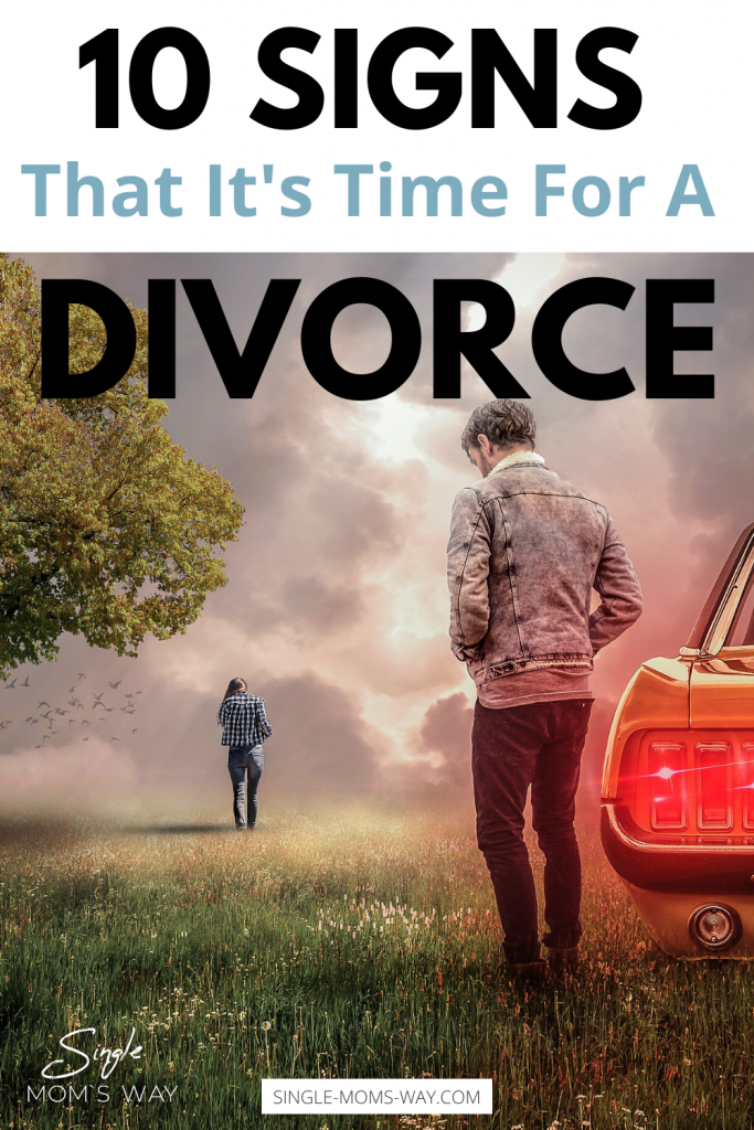 10 Signs That It's Time For A Divorce