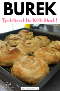 Burek - Traditional Pie With Meat!