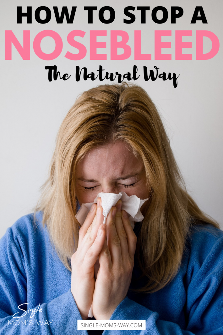How To Stop A Nosebleed – The Natural Way