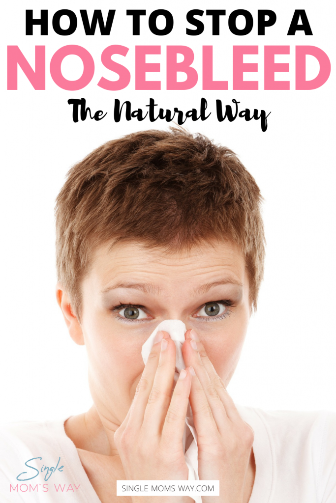 How To Stop A Nosebleed - The Natural Way